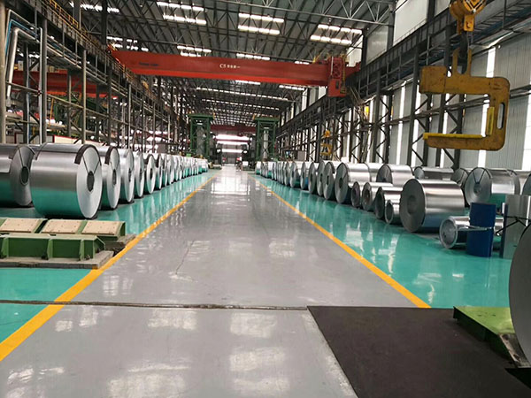 Brief introduction of the production process of color coated steel coil