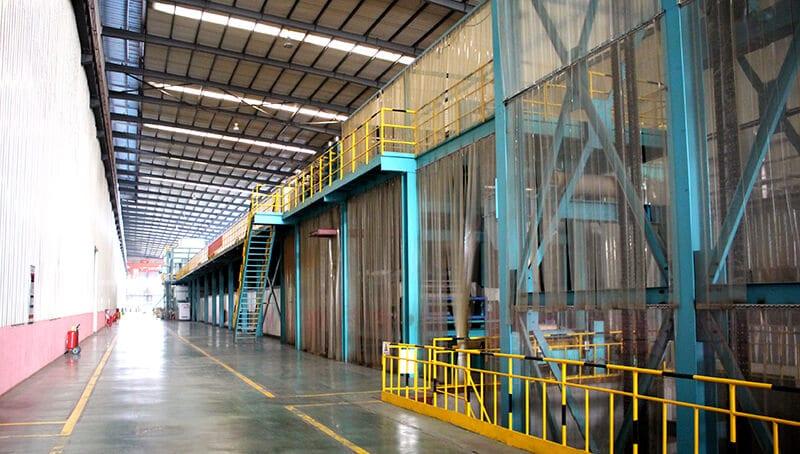 Krāsu coatinproduction-line